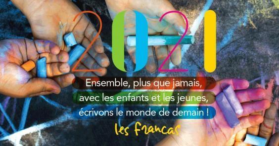 Vœux 2021 – Les Francas du Gard vous présentent leurs meilleurs voeux
